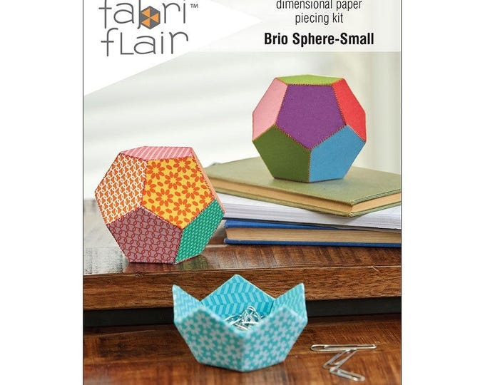 FabriFlair - Dimensional Paper Piecing Kit - Brio Sphere Small