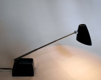 Vintage Mid Century Modern Lightolier 8038  Desk / Reading Lamp Telescoping