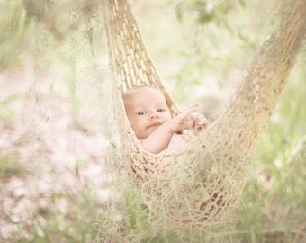 Gray Baby Hammock, Photo Prop Hammock, CHARCOAL, Crochet, Photo Prop, Dark Gray, Boy, Girl, hanging, prop, newborn, baby, newborn prop,
