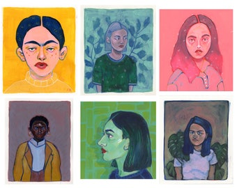 Commission Portraits (Paintings)