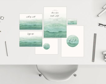 Wedding Package // Watercolour 01