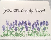 You are deeply loved