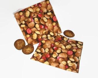 Microwave Baked Potato Bag , 100 % cotton contents