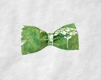 Eco-Green Bow Tie