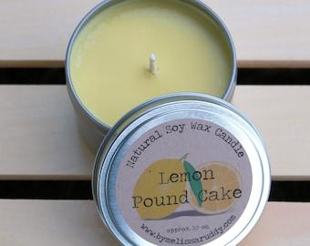 Lemon Pound Cake Soy Wax Candle