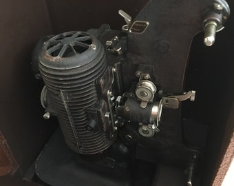 Vintage, Filmo Bell and Howell Projector, Model 8 122 A Made In The USA
