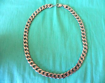 """solid sterling silver 925 necklace chain, 22 1/2"""""""