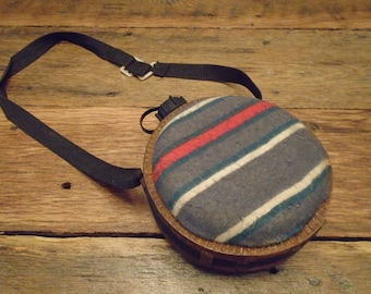 Vintage Cloth Canteen