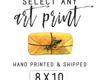 8x10 Selected Print - Hand Printed & Shipped!
