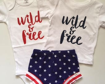 NEW for Summer!! Stars and Stripes Baby Shorts ONLY/Toddler Shorts ONLY