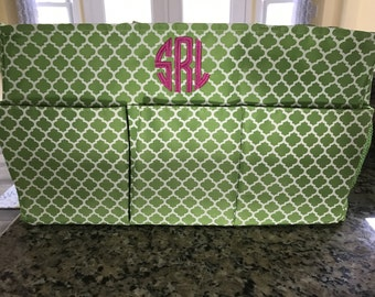 monogrammed oversized carry all tote