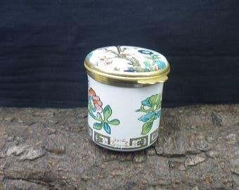 Beautiful Ceramic Enamel Trinket Box