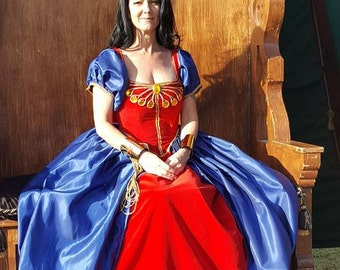 Renaissance Superhero dress