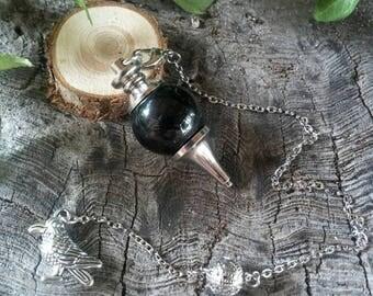 Black Obsidian Pendulum - Dowsing Pendulum - Pendulums - Obsidian Pendulum