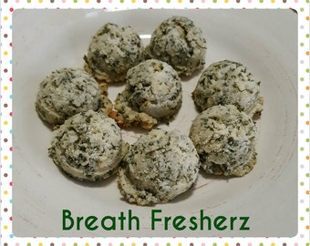All Natural Breath Fresherz - Dog Treats for Breath - 60 count