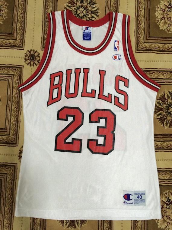 innovative design 15637 5ab94 best Mega Sale 25% Michael Jordan Jersey Vintage Champion by ...