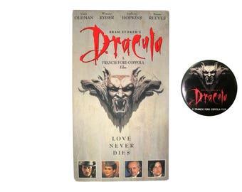 Bram Stoker's Dracula VHS & Pin
