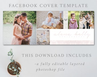 Photography Facebook timeline cover template, Facebook cover psd file, Facebook cover template, FACEBOOK COVER 4852