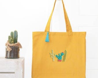 Mustard Tote - customizable