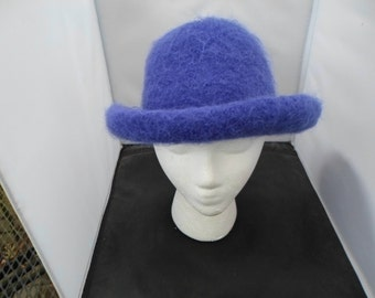 Royal Blue Felted Hat Measures