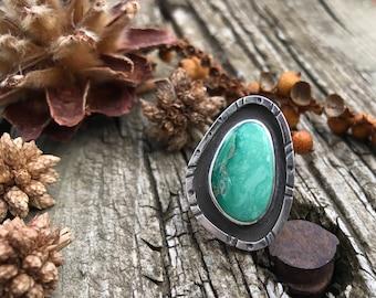 SALE // Broken Arrow Turquoise Ring