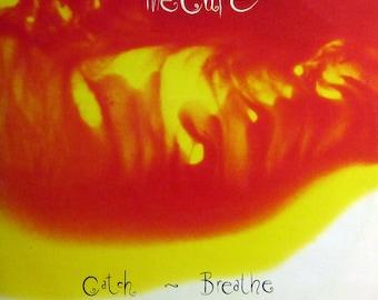 "Rare Original '87 The CURE ""Catch"" Fiction Records Imported German Vinyl Press EP Single !!! MINT !!! Post Punk Classic !!! Robert Smith !!!"