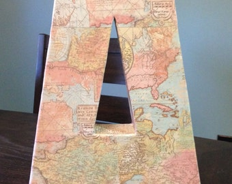 Modgepodged Map Letter