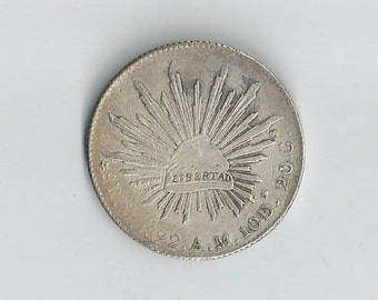 1897 MoAM 8 Reales Mexico