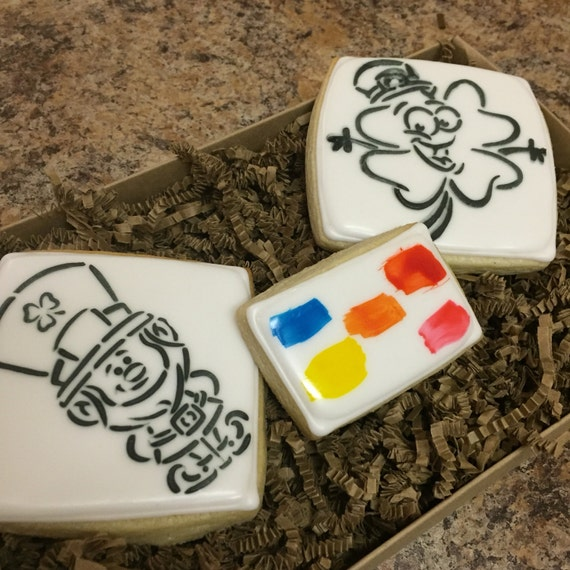 Saint Patricks Paint Your Own Cookies (pick up listing)