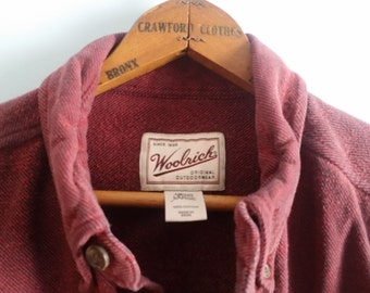 Vintage Woolrich Men's Shirt
