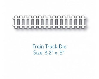 Your Next Stamp - Dies - All Aboard Train Track