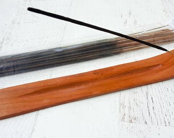 Stick Incense Burner - Incense Stick Holder - Incense Gift Set - Incense Holder - 20 Incense Sticks - Ritual Incense - Housewarming Gift