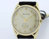 10K Gold filled Bulova Wrist watch