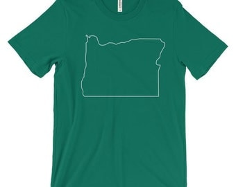 Outline of Oregon T-Shirt