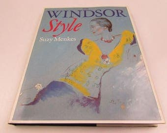 The Windsor Style, Book by Suzy Menkes, Salem House 1987, Duke and Duchess of Windsor, Lifestyle, Paris, WWII, Art, Jewels