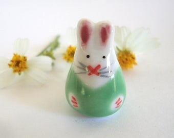 Bunny Ceramic Bead