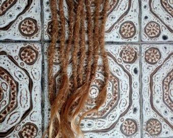 Dread Extensions  - human hair - thick dreadlocks MADE TO ORDER