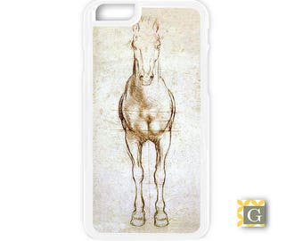 Galaxy S8 Case, S8 Plus Case, Galaxy S7 Case, Galaxy S7 Edge Case, Galaxy Note 5 Case, Galaxy S6 Case - Da Vinci Horse Study