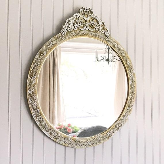 Large bathroom mirror baroque mirror chic home decor for Baroque bathroom mirror