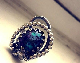 Turquoise/Bee Ring