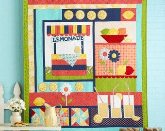Lemonade Stand Laser Cut Quilt Kit