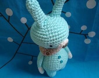 Gooroomi Amigurumi Bunny with Scarf - Item #ami0024