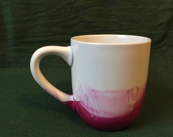 Dipped Water Color Coffee Mug