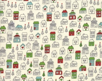 Hometown Christmas #5661-14 by Sweetwater Fabrics for Moda, Christmas in July, Christmas fabric, IN STOCK