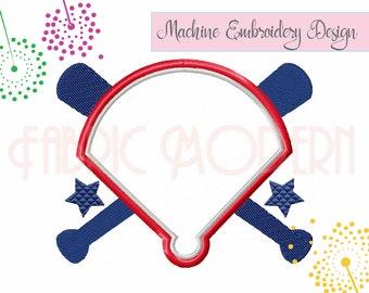 BASEBALL, Home plate, monogram frame, Applique', embroidery Design, digital embroidery, sports design, sports fan, applique', onesie #837