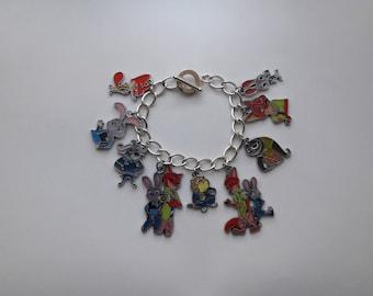 Zootopia Charm Bracelet