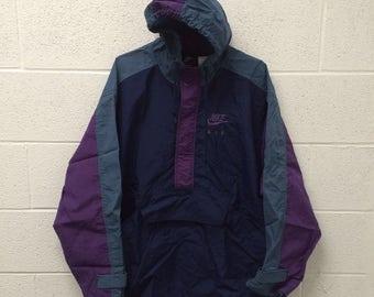 Vintage Nike Air pullover 1/4 zip windbreaker jacket