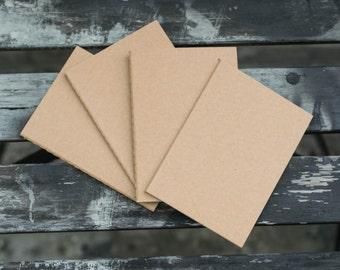 ADD-ONS - Pack of 4 Passport Size Notebook Refills (Midori Traveler's Notebook)