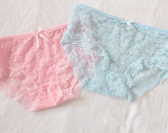 Lace Panties Knickers XS 34