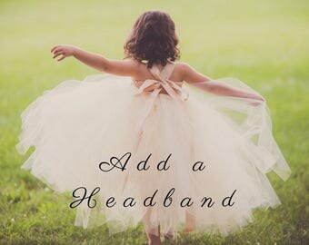 Add a Headband to Match Your Dress!!